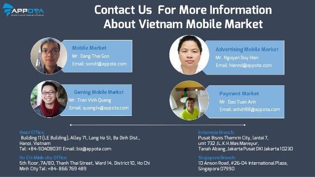 Vietnam Mobile Market Report 2015