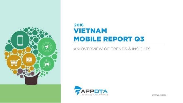 Vietnam mobile report q3 2016