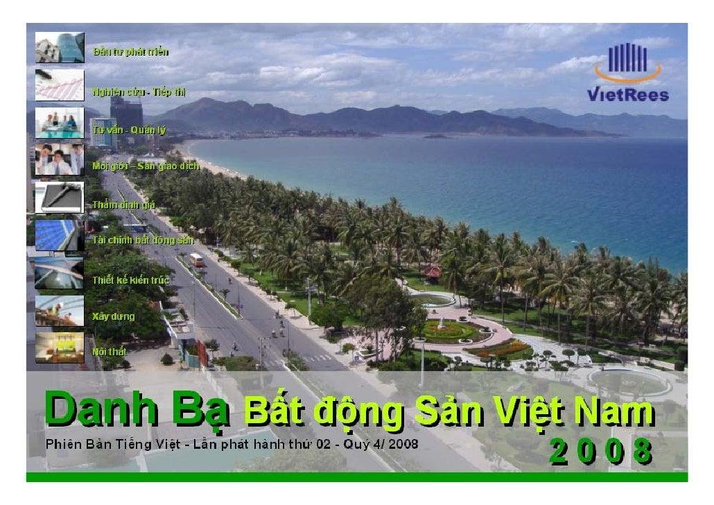 Số 02 – Quý 4/ 2008     VietRees – Vietnam real estate e-directory – Danh bạ điện tử bất động sản Việt Nam - VietRees     ...