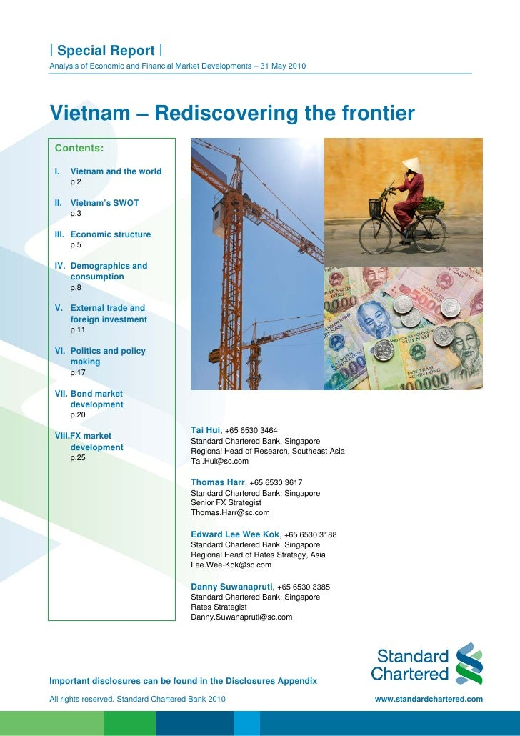 | Special Report | Analysis of Economic and Financial Market Developments – 31 May 2010     Vietnam – Rediscovering the fr...