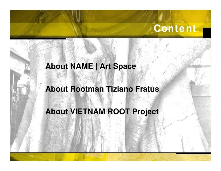 Name Root: Art Space - Vietnam Root