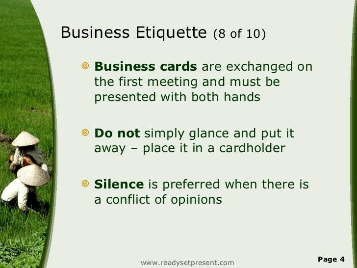 Vietnam powerpoint country business etiquette reheart Choice Image