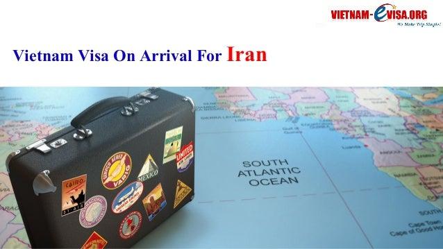 Vietnam Visa On Arrival For Iran