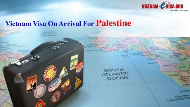 Vietnam Visa On Arrival For Palestine