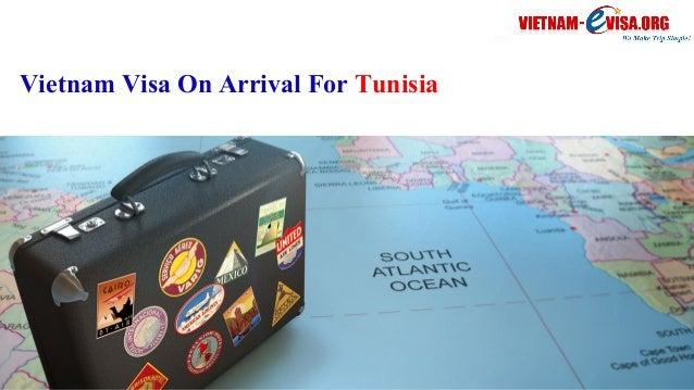 Vietnam Visa On Arrival For Tunisia