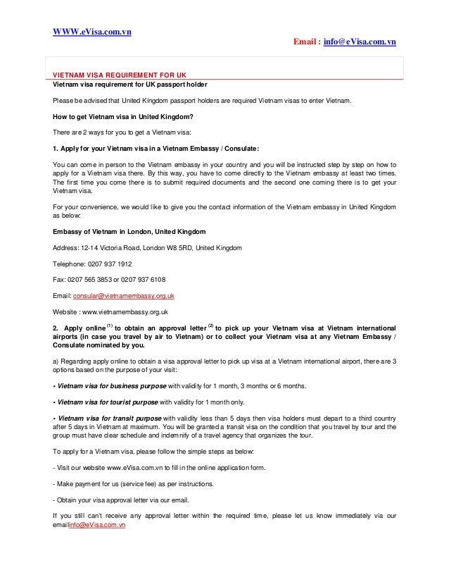 Vietnam visa requirement for uk vietnam visa requirement for uk evisa email infoevisa altavistaventures Gallery