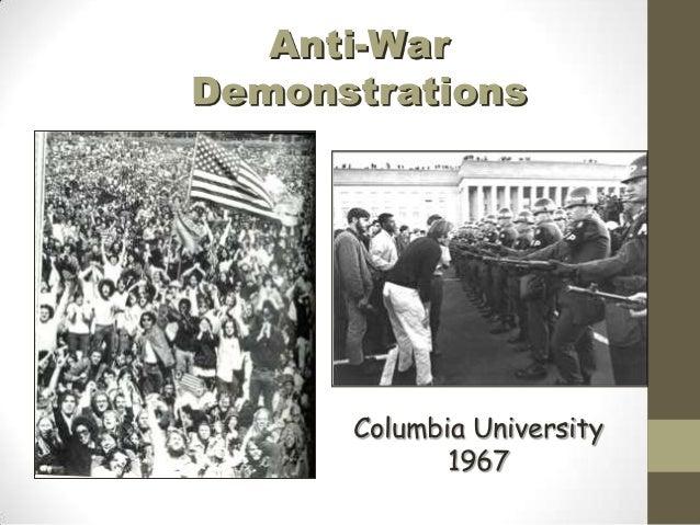 Anti-WarDemonstrations      Columbia University             1967