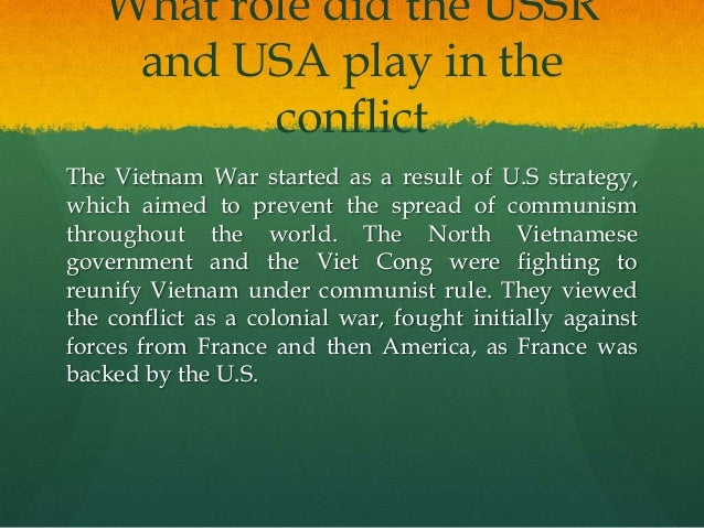the fear of communism as a result of the involvement of australia in the vietnam war Australia's involvement in the vietnam war series of disastrous communist led coal strikes which had why australia became involved in the vietnam war.