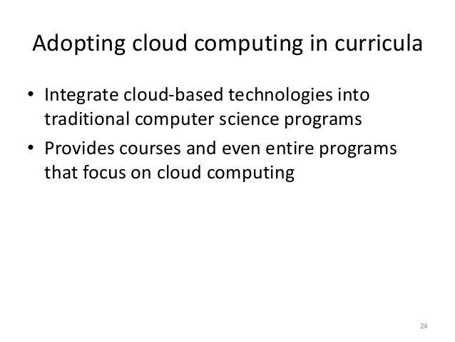 Corporate adoption cloud computing open