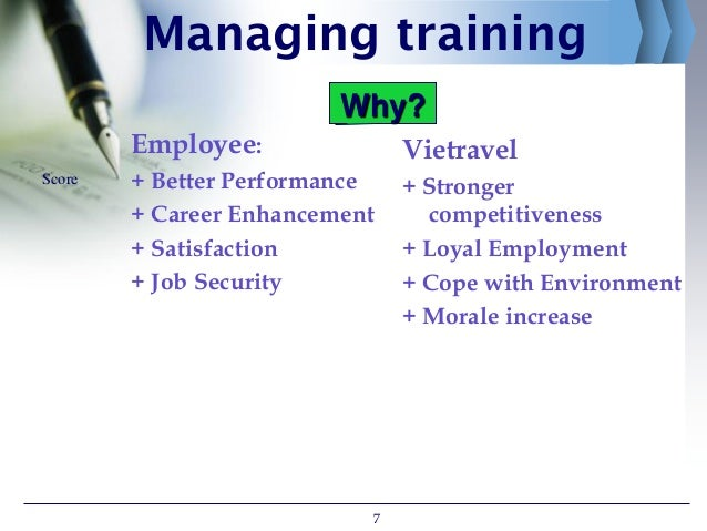 vietravel managing training hrm