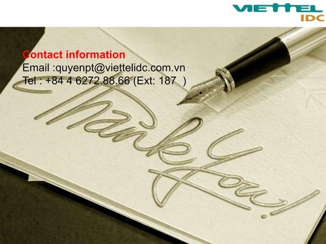 Datacenter in VietNam - Viettel Group