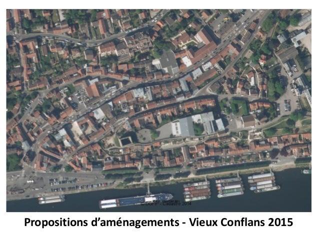Propositions d'aménagements - Vieux Conflans 2015