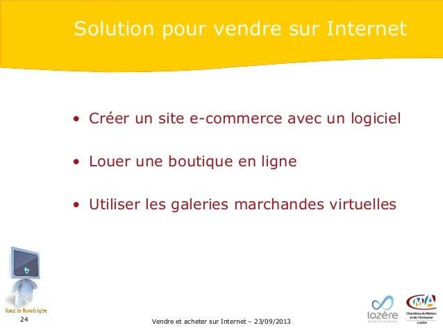 Vendre et acheter sur internet - Vendre des objets sur internet ...