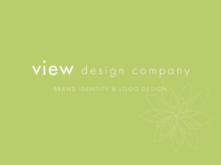 view    design company   brand identity & logo design