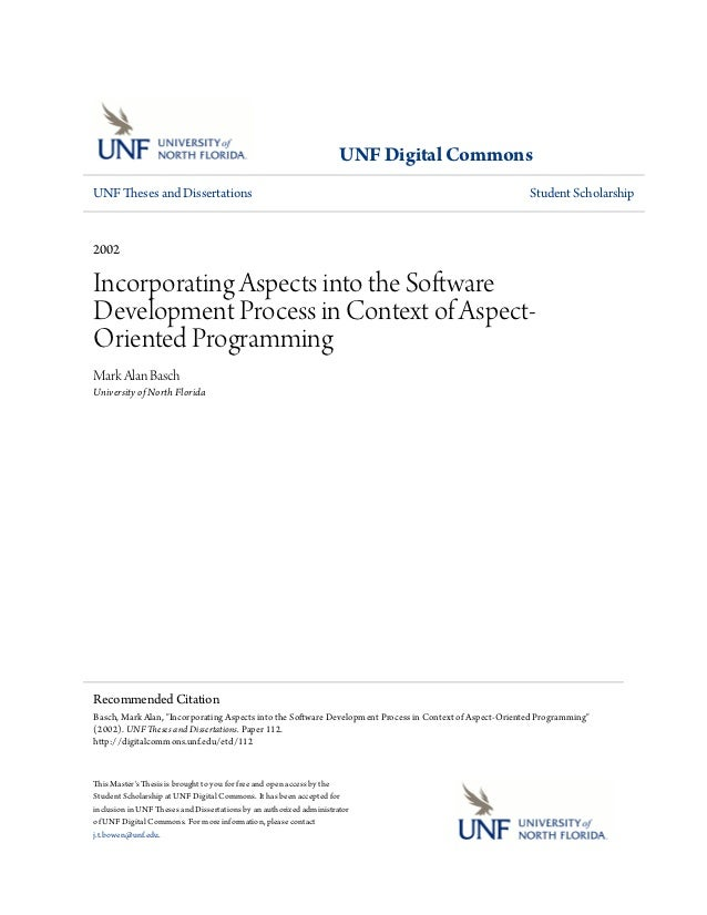 UNF Digital CommonsUNF Theses and Dissertations                                                                           ...