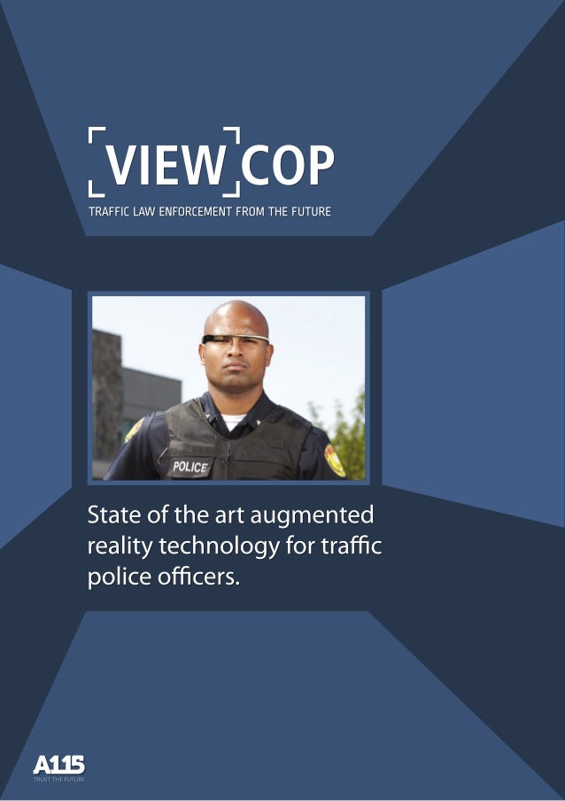 ViewCop by A115 - Augmented reality for traffic law enforcement