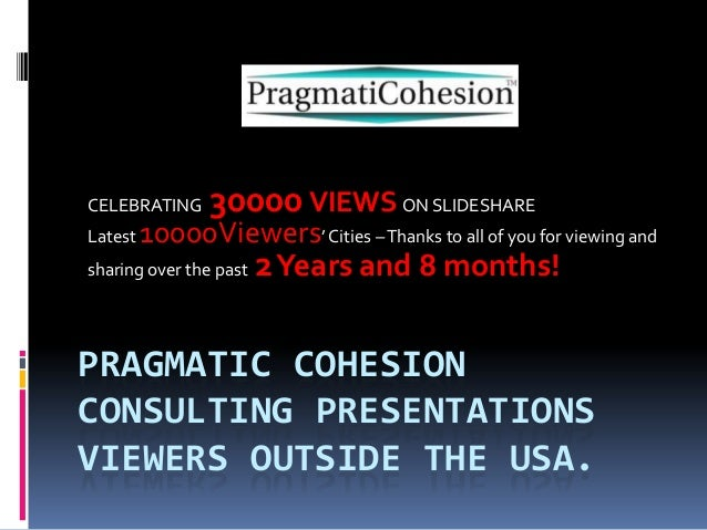 CELEBRATING  30000 VIEWS ON SLIDESHARE  10000Viewers' Cities – Thanks to all of you for viewing and sharing over the past ...