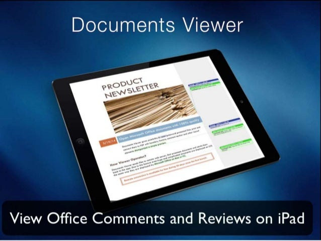 Document with Comments & Review Notes displayed by iOS webview.