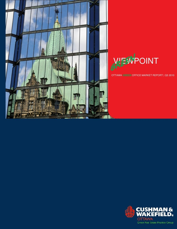 VIEWPOINT OTTAWA GREEN OFFICE MARKET REPORT | Q3 2010