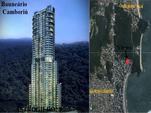 Apartamento PRAIA Camboriu Views LANÇAMENTO  9609-7986