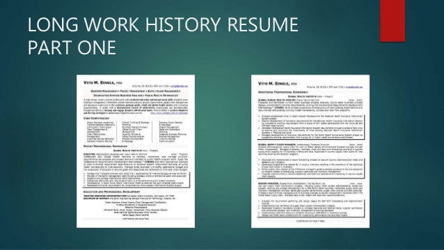view unique sample resumes as a slide show
