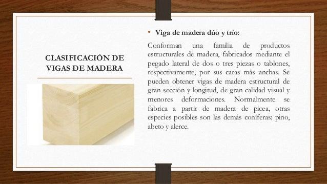 Vigas de madera - Vigas falsas de madera ...