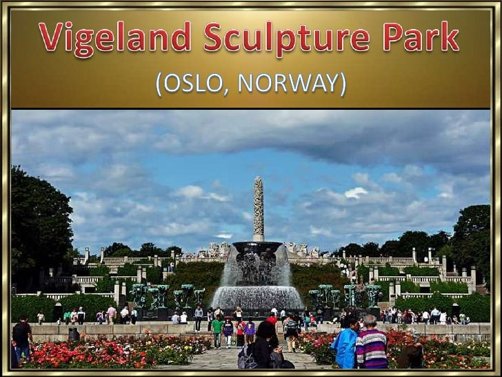 Vigeland Sculpture Park is a part of Frogner Park located in Oslo, Norway, 3 km northwest of the city centre. The park cov...
