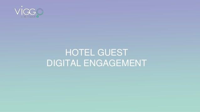 HOTEL GUEST DIGITAL ENGAGEMENT