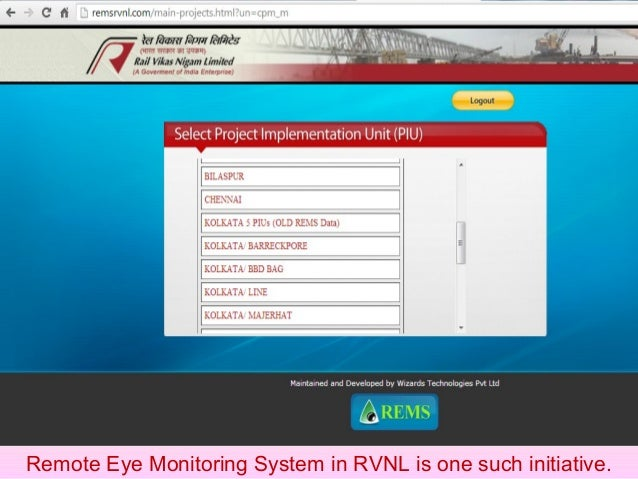 ERP System is being developed in RVNL System. It is likely to be made functional by March, 2015 and all such issues would ...