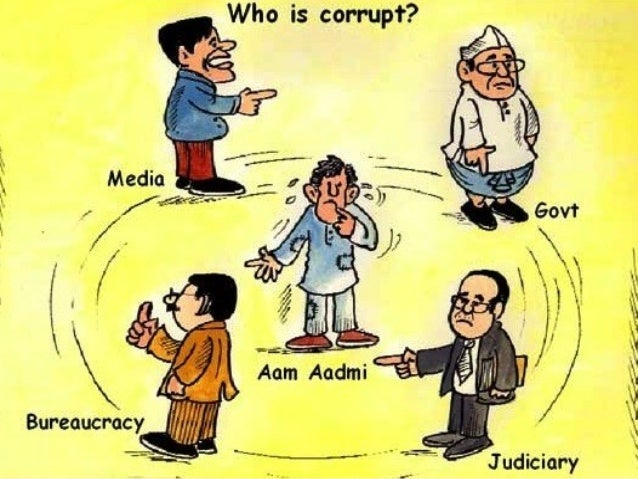 Corrupt practice may take you UP & DOWN
