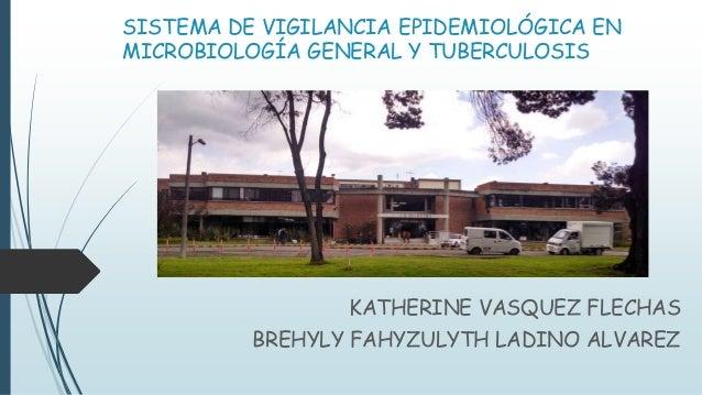 SISTEMA DE VIGILANCIA EPIDEMIOLÓGICA EN  MICROBIOLOGÍA GENERAL Y TUBERCULOSIS  KATHERINE VASQUEZ FLECHAS  BREHYLY FAHYZULY...
