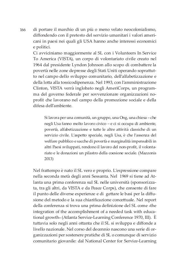 166 di portare il marchio di un più o meno velato neocolonialismo, diffondendo con il pretesto del servizio umanitari i va...