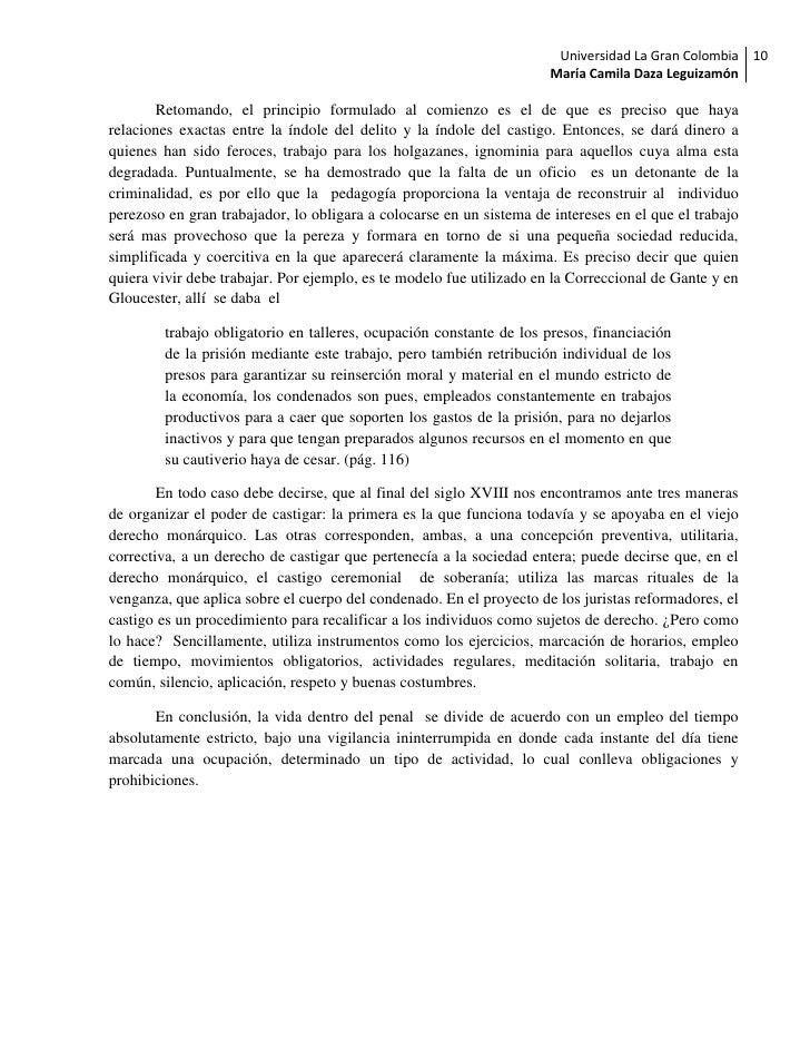 Universidad La Gran Colombia 10                                                                      María Camila Daza Leg...