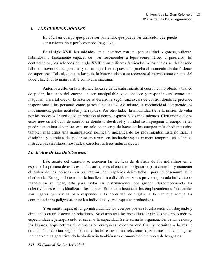Universidad La Gran Colombia 13                                                                      María Camila Daza Leg...