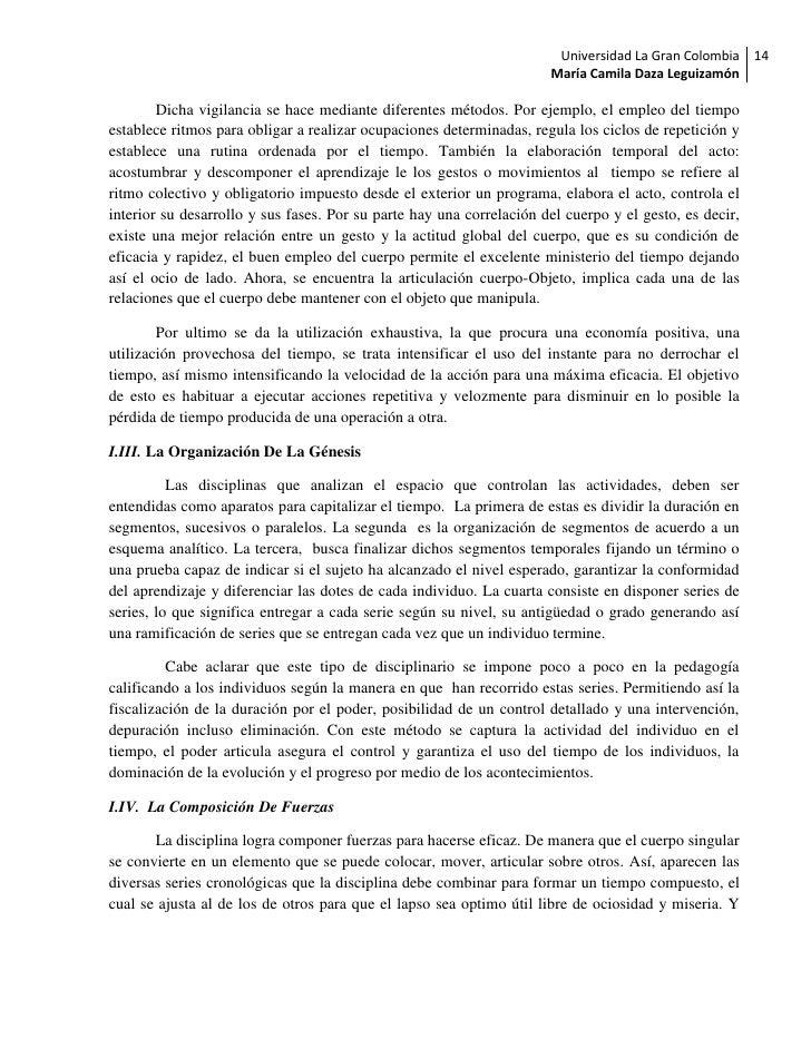 Universidad La Gran Colombia 14                                                                      María Camila Daza Leg...