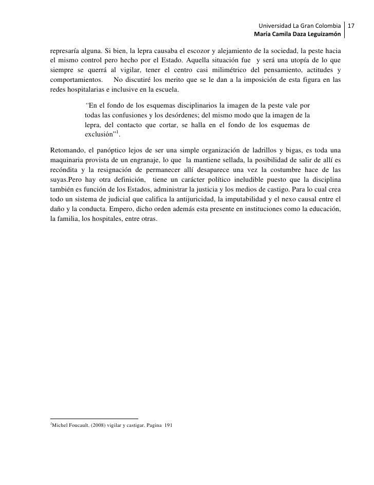 Universidad La Gran Colombia 17                                                                      María Camila Daza Leg...