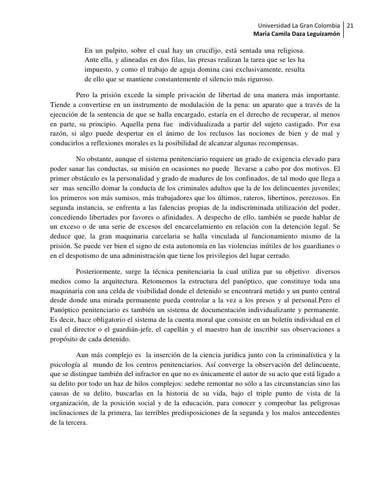 Universidad La Gran Colombia 21                                                                       María Camila Daza Le...