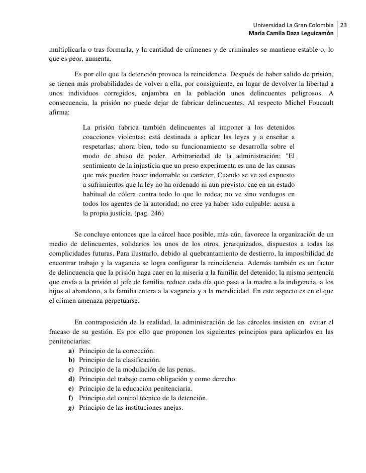 Universidad La Gran Colombia 23                                                                      María Camila Daza Leg...