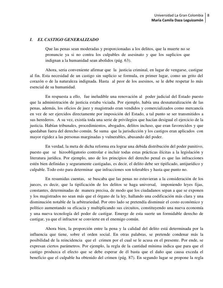 Universidad La Gran Colombia 8                                                                       María Camila Daza Leg...