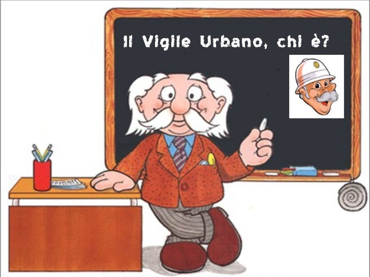Il Vigile Urbano, chi è?