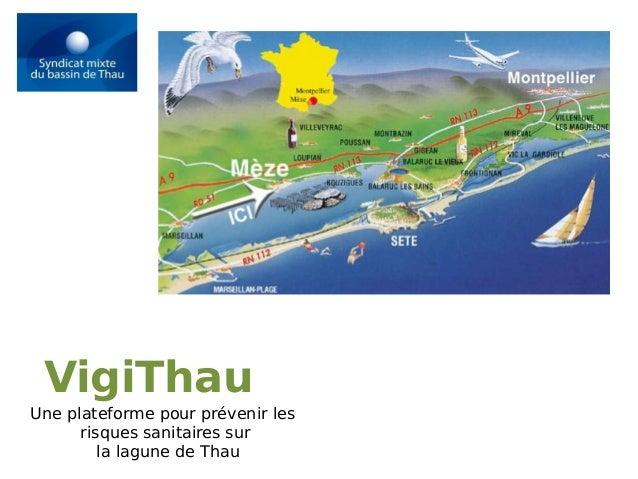 VigiThau Une plateforme pour prévenir les risques sanitaires sur la lagune de Thau