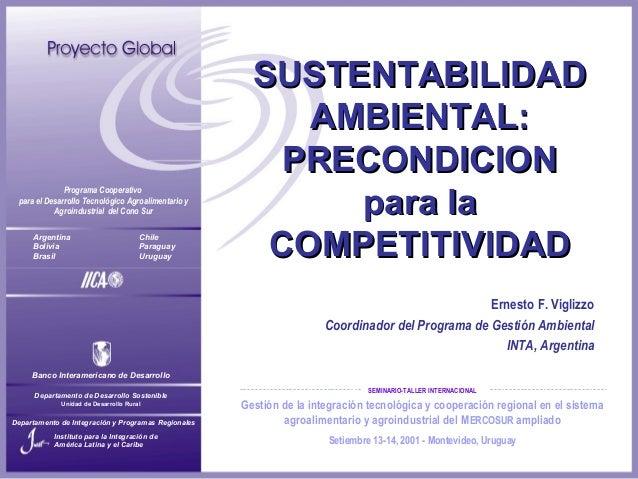 Gestión de la integración tecnológica y cooperación regional en el sistema agroalimentario y agroindustrial del MERCOSUR a...