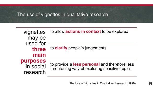 Vignettes in Survey Research