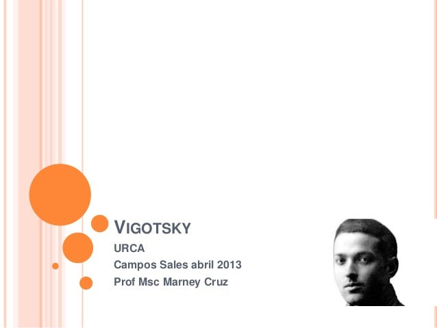VIGOTSKYURCACampos Sales abril 2013Prof Msc Marney Cruz
