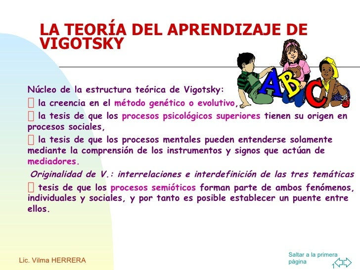 Vygotsky Teoria Sociocultural Ppt Presentation