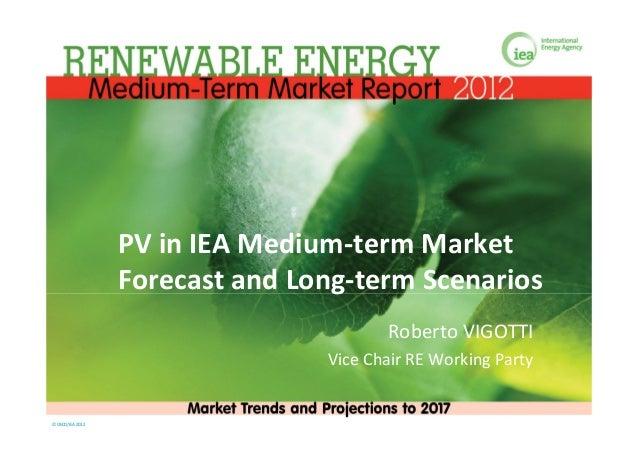 PVinIEAMedium‐termMarket                   ForecastandLong‐termScenarios                                         R...