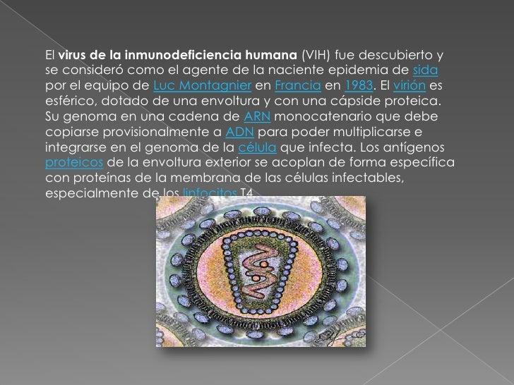 El virus de la inmunodeficiencia humana (VIH) fue descubierto y se consideró como el agente de la naciente epidemia de sid...