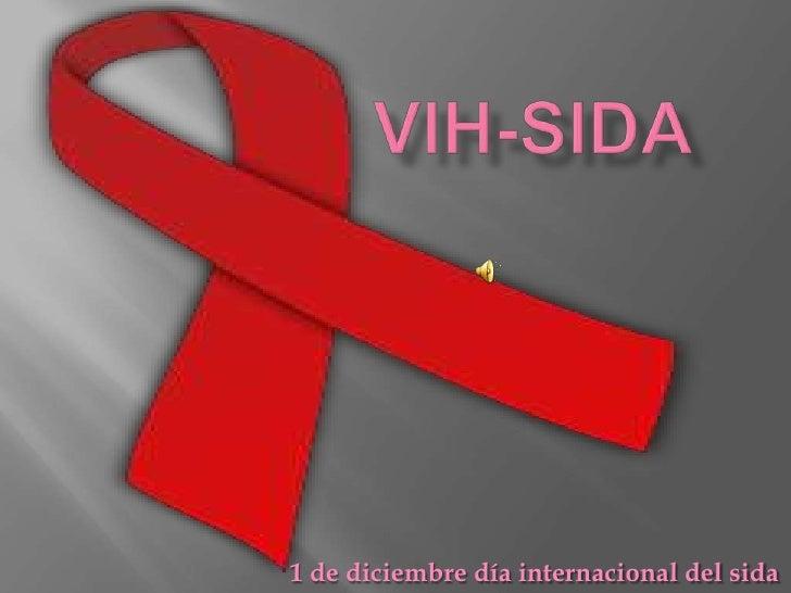 1 de diciembre día internacional del sida