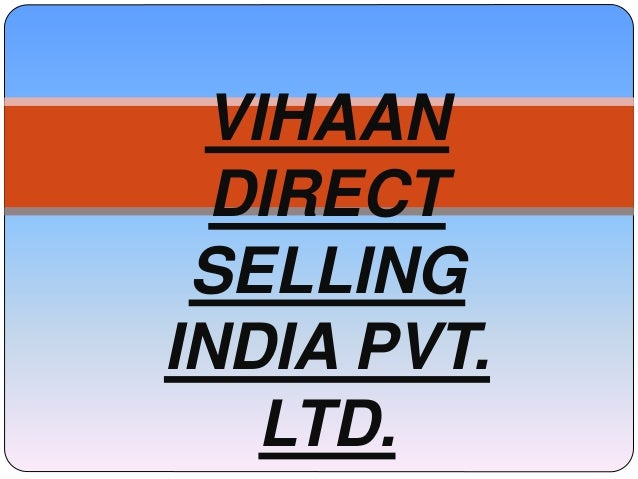 Vihaan direct selling india pvt  ltd  (1)