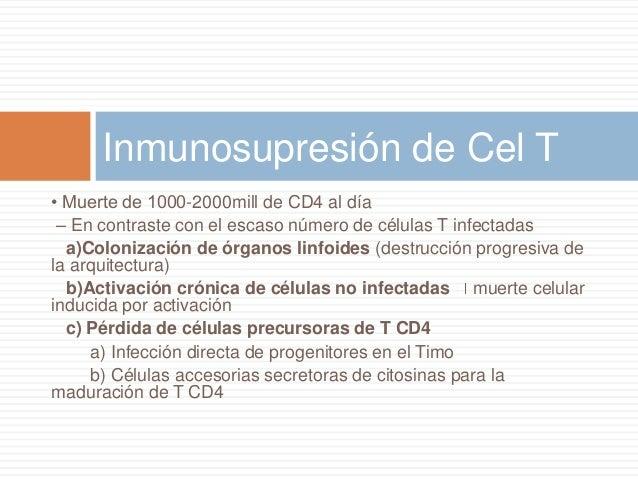 • Enfermedad diseminada – Coriorretinitis y Retinitis CD4 < 50/μl – Esofagitis y colitis con ulceración de la mucosa – Neu...